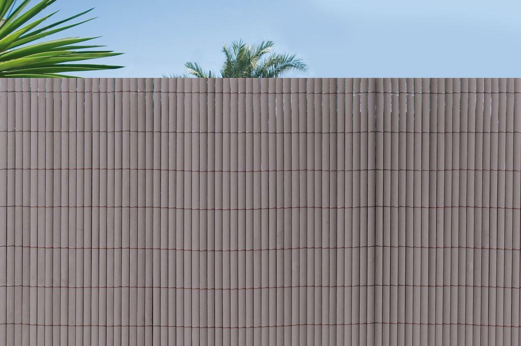 Umělé bambusové ploty v rolích