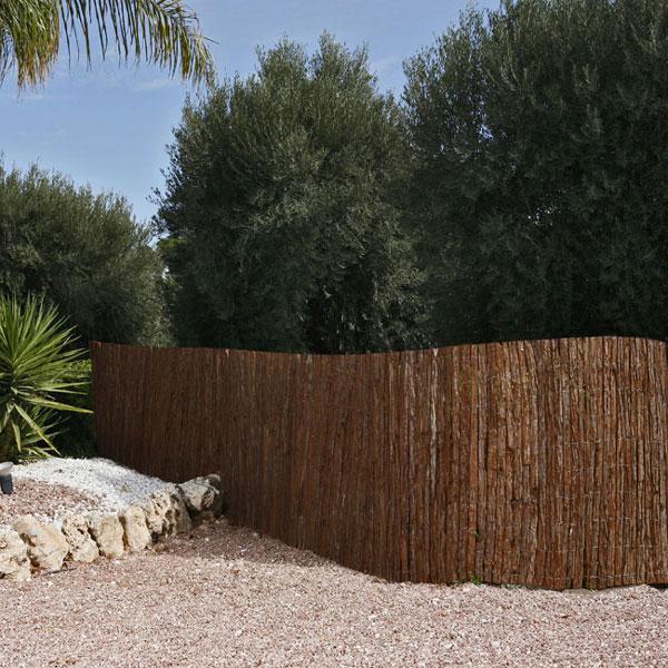 Přírodní ploty v rolích